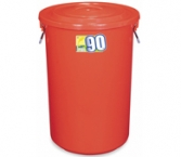 Plastic Trash Bin (W...