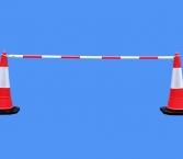 Red&White Pole F...